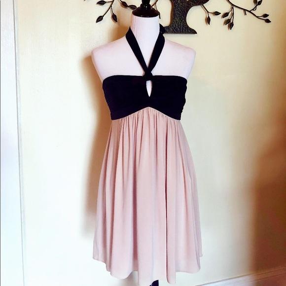 b62cb96723b5 BCBGMaxAzria Dresses | Halter Top Flowy Dress | Poshmark